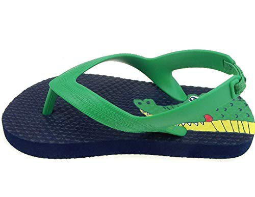 Pictures of Toddler Beach Flip FlopBoys Sandals Blue Green 1