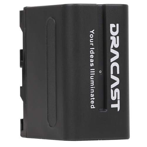 Dracast NP-F 6600mAh Lithium-Ion Battery for LED160, LED200, X1 and X2 Light Fixtures by Dracast
