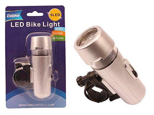 Bike Safety Light, 1.25''x1.75''x1.3'' , Case of 96