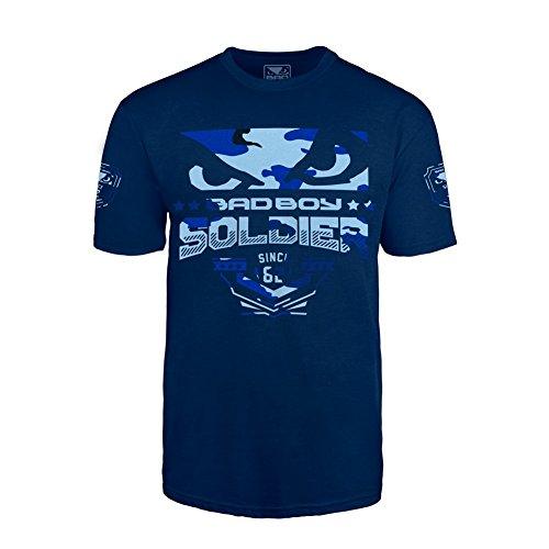 T shirt Bad Soldier Homme Boy T Bleu tIxr5x4q
