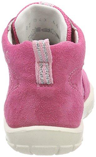 Superfit Baby Mädchen Softtippo Sneaker Pink (Pink Kombi)