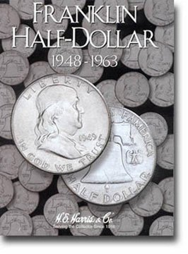 Harris Coin Folder – Franklin Half Dollar 1948-1963 #8HRS2695