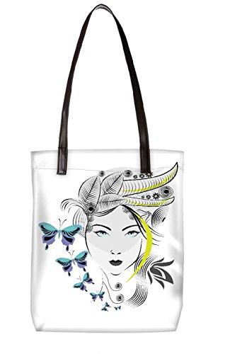 Snoogg Strandtasche, mehrfarbig (mehrfarbig) - LTR-BL-3870-ToteBag
