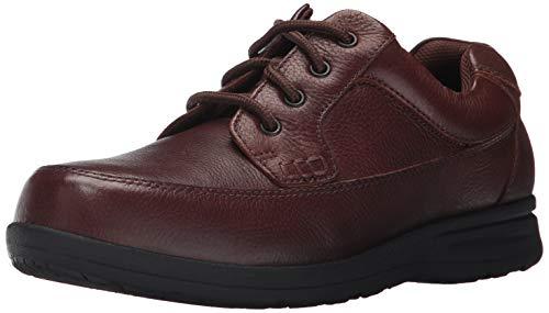 Nunn Bush Men Cam Oxford Casual Walking Shoe Lace Up, Brown Tumbled, 11.5 W -