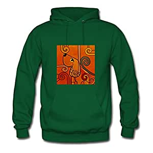 Green Creative Dog Women Funny Sweatshirts X-large