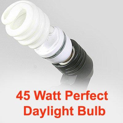 ePhoto Photography Video Perfect Daylight CFL Fluorescent Light Bulb 5500K Daylight balanced ()