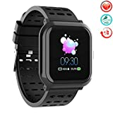 TwobeFit Fitness Tracker, Activity Tracker Smart Watch with 1.3″ Color Screen, Waterproof Fitness Watch with Calorie Step Counter Sleep Monitor Heart Rate Monitor for Kids Men Women