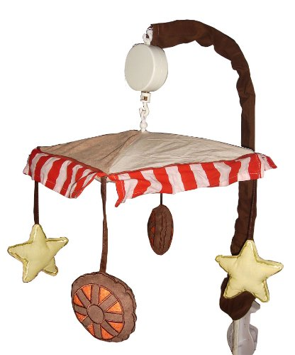 Music Mobile for Western Cowboy Baby Bedding Set By Sisi