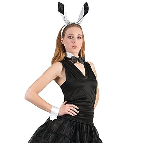 Playboy Bunny Girl 4pc One-Size 6