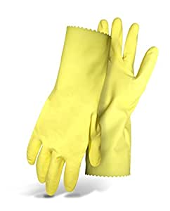 Boss 958L Large Flock Lined Latex Gloves