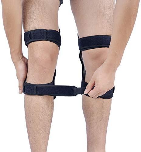 Trihedral-X Joint Support Knee Pads Rebound Powerleg knee booster brace support ortofit stabilizer joelheira Power Lift
