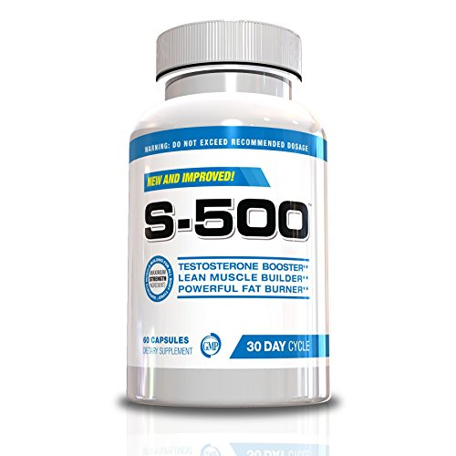 Testosterone-Supplement-Fat-Burner-for-Men-S-500-Ultra-Concentrated-Muscle-Builde-60-Capsules