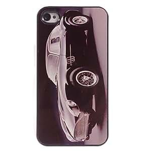 GJY Bubble Car Design Aluminum Hard Case for iPhone 5/5S
