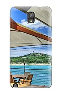Awesome Design Beach Summer Chair Water Hard Case Cover For Galaxy Note 3