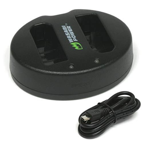 Wasabi Power Dual USB Battery Charger for Nikon EN-EL14, EN-EL14a, MH-24