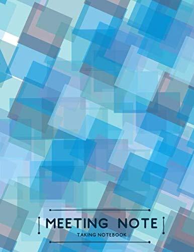 Meeting Note Taking Notebook: Record Logbook, Meeting Minutes Notebook Journal, Secretary Notepad, Gifts for Secretaries, Office, Church, Warehouse, ... with 110 Pages. (Administrative Supplies) ()