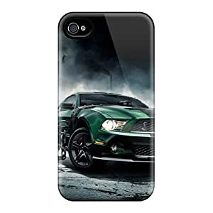 Protection Case For Iphone 4/4s / Case Cover For Iphone(mustang Rules)