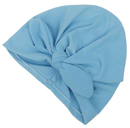 La Vogue Gorro para Bebé Niñas Algodón con Lazo de Primavera Azul: Amazon.es: Ropa y accesorios