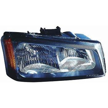 Passenger Side for Chevrolet Colorado GM2503234C 2004 to 2012 New Headlight