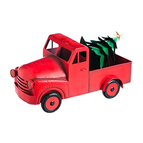 Cheap New Creative Vintage Truck Outdoor Safe Metal Statue
