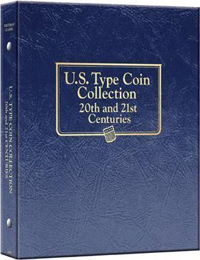 Whitman U.S. Type Coin Collection Album for 20th & 21st Centuries, #3688