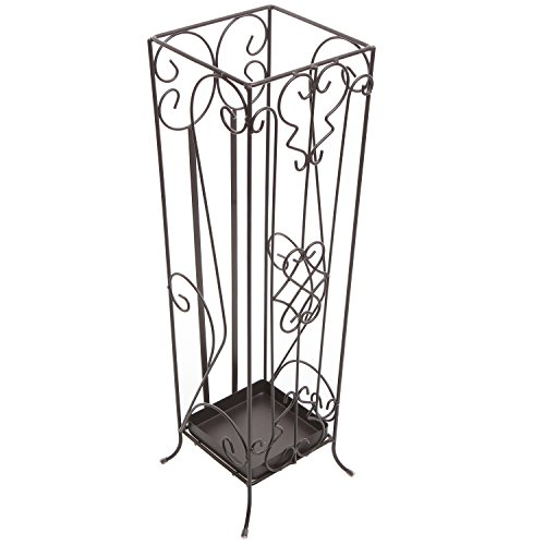 MyGift Scrollwork Entryway Umbrella Walking