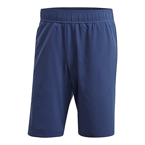 adidas Men's Essex Shorts Noble Indigo Large - Indigo Shorts Adidas