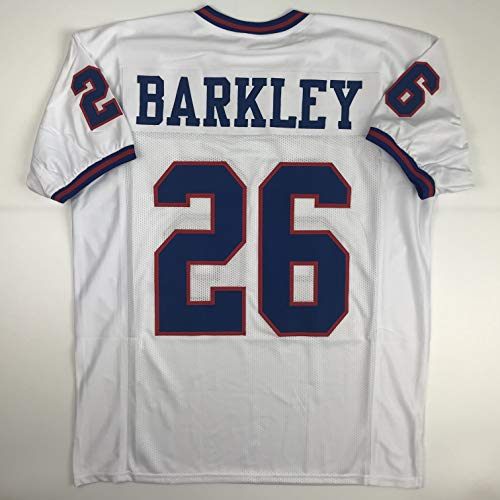 Unsigned Saquon Barkley New York Color Rush Custom Stitched Football Jersey Size Men