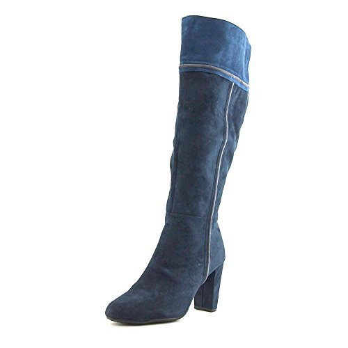 Suede Boot High Knee Rialto Cordelia Navy WXFqnOS1n