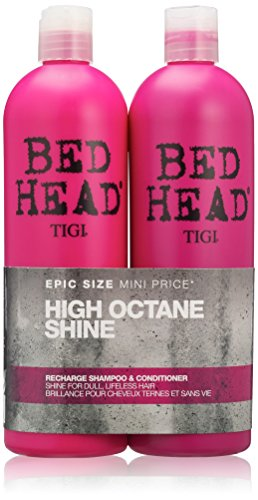 BED HEAD by TIGI High Octane Shine Recharge Shampoo and Conditioner - 750...