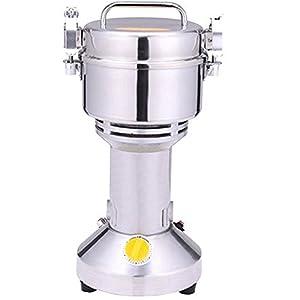 DaMai 250g Cocoa Grinder Small Animal Feed Grinder Chilli Grinder Dry Food Grinding Machine Sugar Mill Pulverizer HC-250