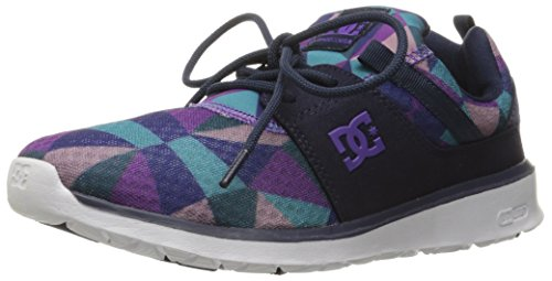 DC Shoes Heathrow se Skate zapatos Violett (Purple Rain/Dusty Purple)