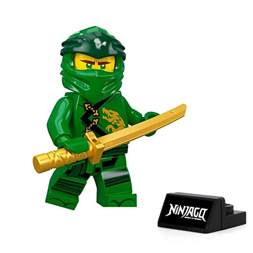 LEGO Ninjago Legacy Minifigure - Lloyd (with Gold Sword and Display Stand) 70670]()
