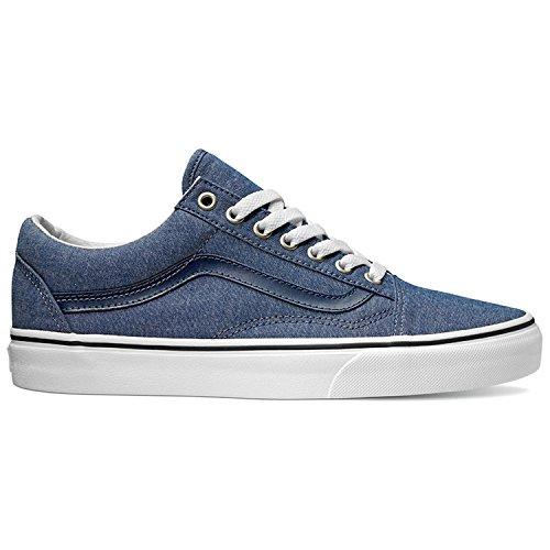 99a6cd8467ec Galleon - Vans Old Skool Shoes UK 5 C And L Chambray Blue