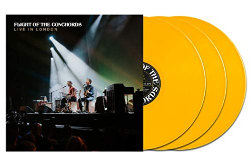 Flight of the Conchords - Live In London Exclusive Limited Edition Yellow Vinyl 3X Lp