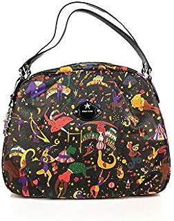 7eb47f3fe5eb Piero Guidi Magic Circus Black Boston Bag - SIZE (cm)   W.39 H.29 D ...