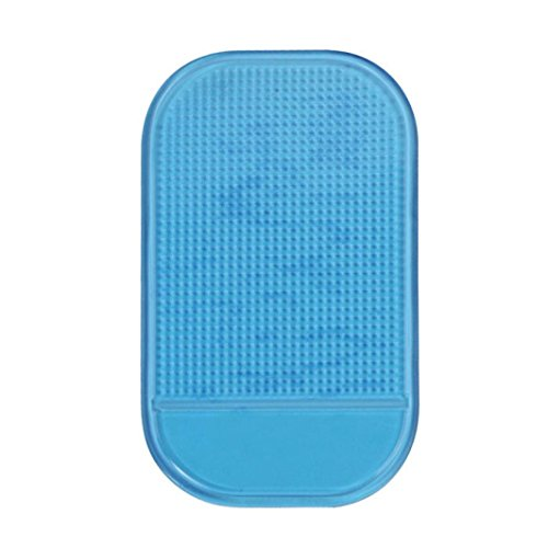 Iuhan® Fashion Car Magic Anti-Slip Dashboard Sticky Pad Non-slip Mat Holder For GPS Cell Phone (Blue)