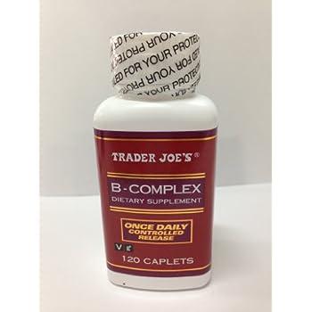 Trader Joe's B-complex Dietary Supplement - 120 Caplets