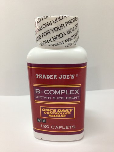 Trader Joe's B-complex Dietary Supplement – 120 Caplets 41XJt0GVY9L