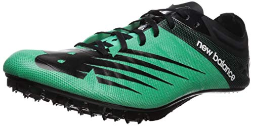 New Balance Men's Verge V1 Vazee Track Shoe, neon Emerald/Black, 11.5 D US (New Balance Track Shoes)