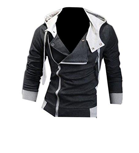 Slim Zip Sweatshirt - 1