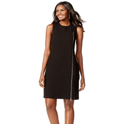 Zip Detail Sheath Dress - 6