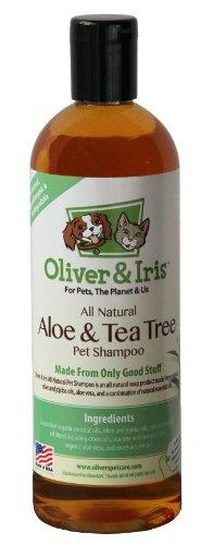 Oliver and Iris All Natural Pet Shampoo, Aloe and Tea Tree, 18 oz, My Pet Supplies