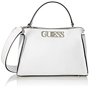 Guess Women's Uptown Chic Turnlock Satchel Satchels