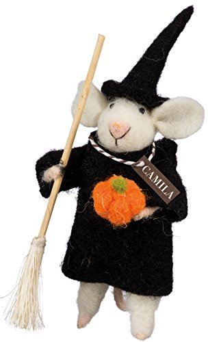 Primitives by Kathy Halloween Camilla Witchy Mouse -