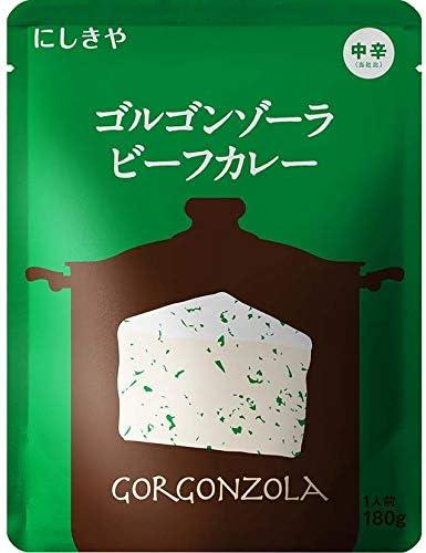 7位:にしき食品『にしきや ゴルゴンゾーラビーフカレー』