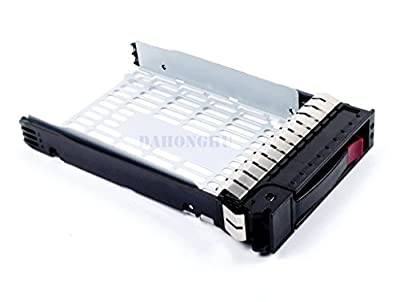 "(2-Pack) 373211-001 3.5"" SATA SAS Hard Drive Tray Caddy for HP Compaq ProLiant ML350 G4p ML350 G5 G6 ML370 G5 DL 180 G6"