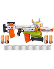 Nerf Modulus - Demolisher Customizable Motorised Blaster - Ultimate Mega Pack - Tactical Light, Acc, 4 Rockets & 40 Elite Darts - Kids Toys & Outdoor Games - Ages 8+