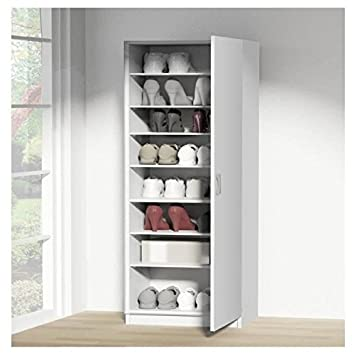 kim meuble a chaussures 50 cm - blanc: amazon.fr: cuisine & maison - Meuble Cuisine 50 Cm