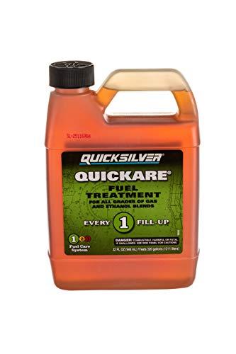 (Quicksilver 8M0058680 Quickare Fuel Treatment 32 Oz.)